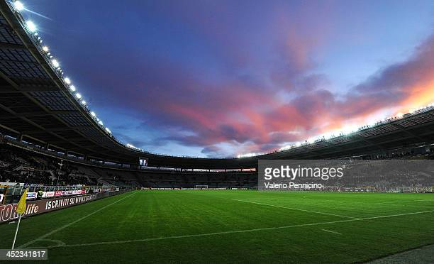 A general view during the Serie A match between Torino FC and Calcio Catania at Stadio Olimpico di Torino on November 24 2013 in Turin Italy