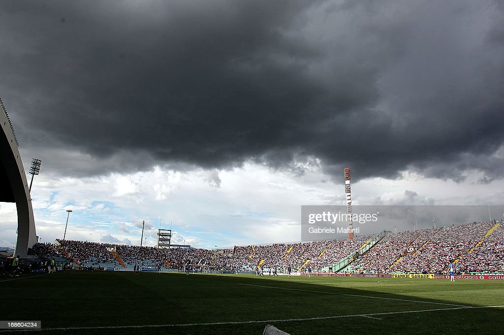A general view during the Serie A match between Udinese Calcio and Atalanta BC at Stadio Friuli on May 12, 2013 in Udine, Italy.