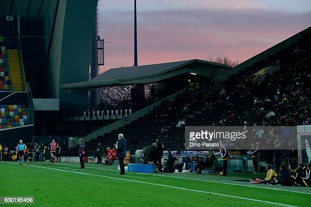 A general view during the Serie A match between Udinese Calcio and FC Crotone at Stadio Friuli on December 18 2016 in Udine Italy