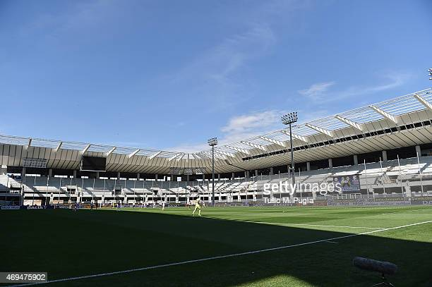 general view during the Serie A match between Udinese Calcio and US Citta di Palermo at Stadio Friuli on April 12 2015 in Udine Italy