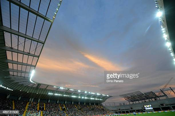 A general view during the Serie A match between Udinese Calcio v Empoli FC at Stadio Friuli on September 19 2015 in Udine Italy