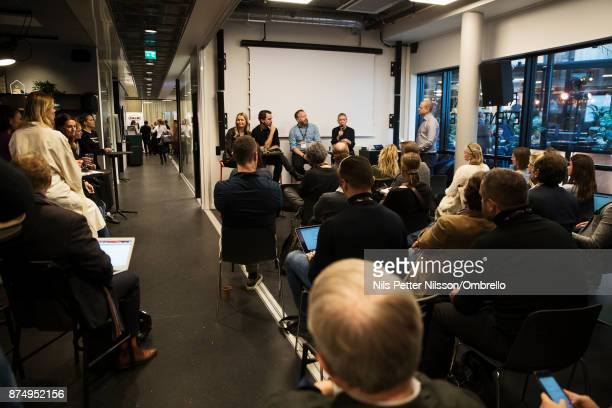 General view during the Sime Awards at Epicenter on November 16 2017 in Stockholm Sweden