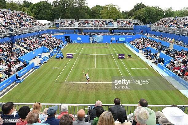 General View during the Singles Final during Day Seven of the Aegon Classic at Edgbaston Priory Club on June 15 2014 in Birmingham England