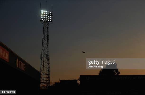 A general view during the Sky Bet Championship match between Brentford and Bristol City at Griffin Park on August 15 2017 in Brentford England
