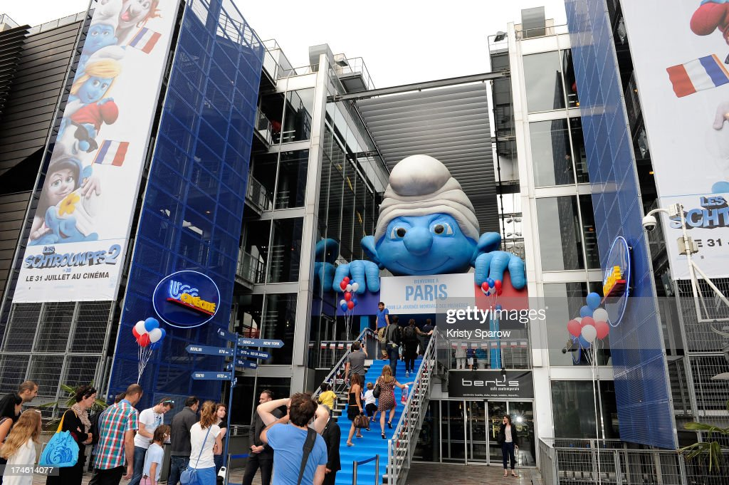A general view during the 'Smurfs 2' Paris Premiere at UGC Cine Cite Bercy on July 28, 2013 in Paris, France.