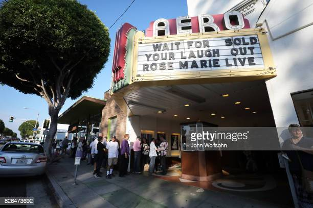 General view during the special screening and QA 'Rose Marie Wait for Your Laugh' at Aero Theatre on August 3 2017 in Santa Monica California