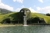 A general view during the Swarovski new collection launch event on July 2 2015 in Wattens Austria