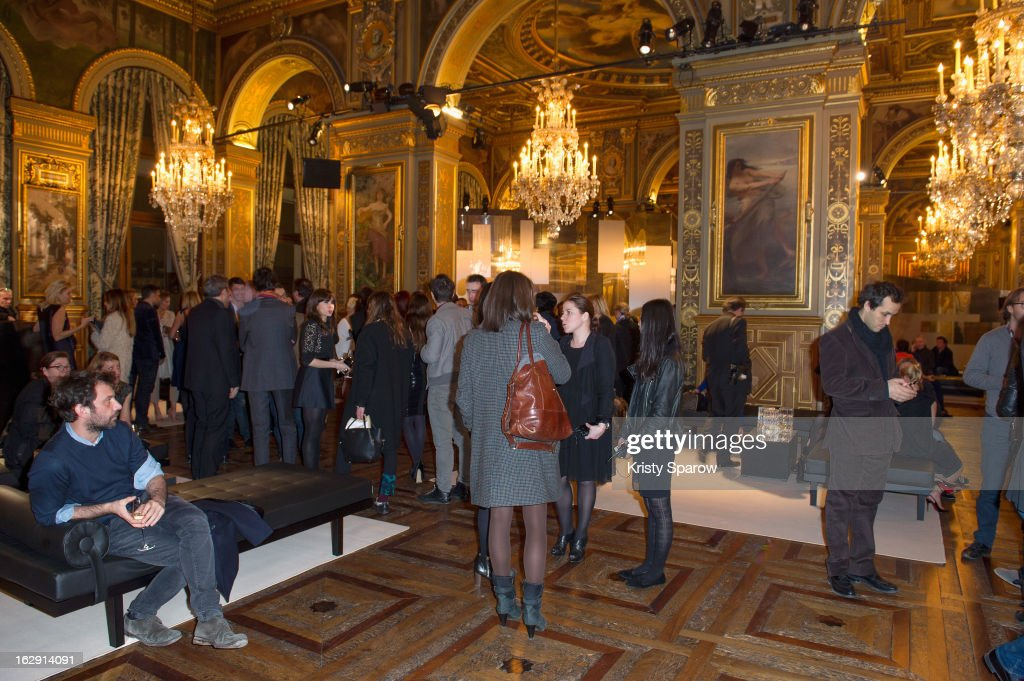 A general view during the Swarovski 'Paris Haute Couture' Exhibition party as part of Paris Fashion Week on February 28, 2013 in Paris, France.