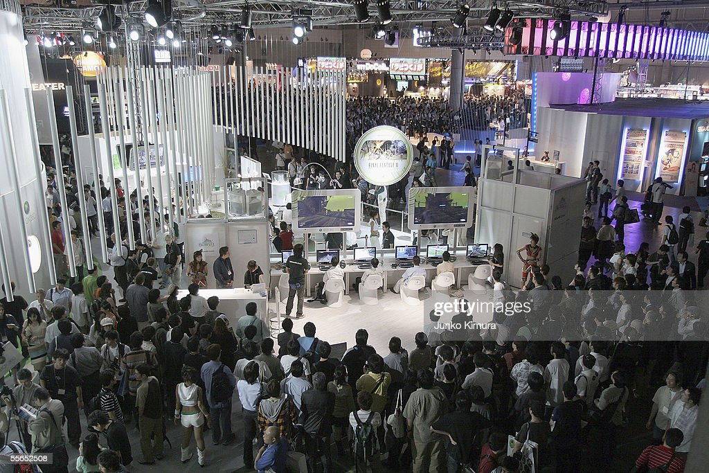 General view during the Tokyo Game Show 2005 on September 16, 2005 in Chiba, Japan. The show which takes place from September 16 for 3 days is expected to attract 150,000 visitors.