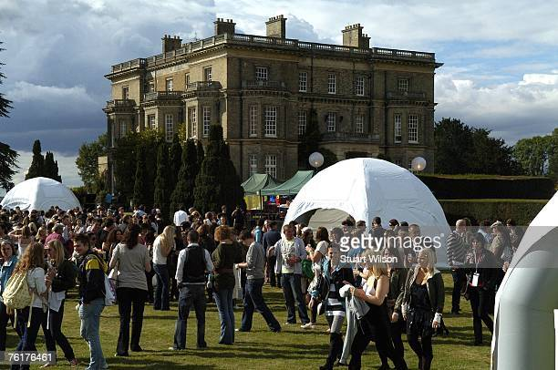 A general view during the Top Shop employees summer party at Hedsor House on August 16 2007 in Taplow Essex