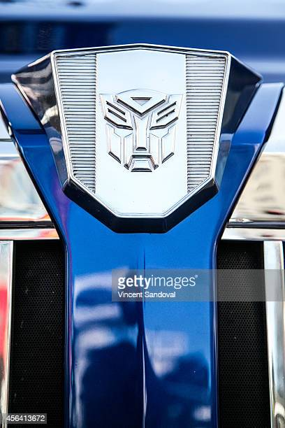 General view during the Transformer Optimus Prime Hand/Footprint Ceremony at TCL Chinese Theatre IMAX on September 30 2014 in Hollywood California