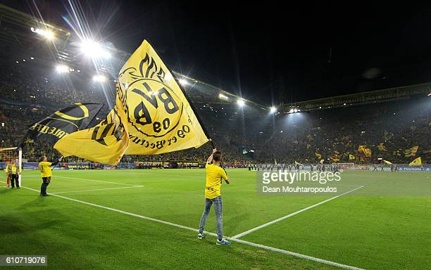 A general view during the UEFA Champions League Group F match between Borussia Dortmund and Real Madrid CF at Signal Iduna Park on September 27 2016...