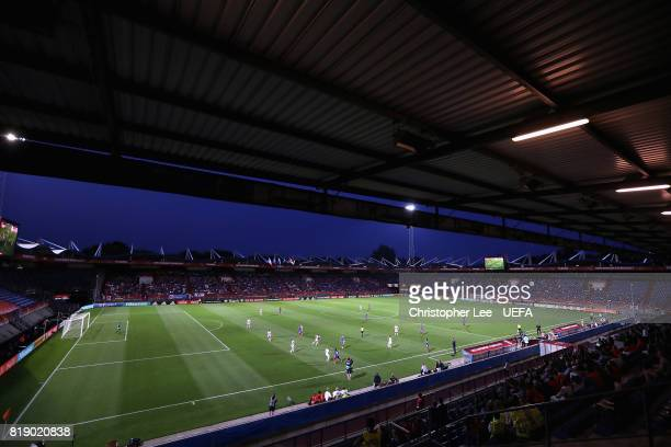 General view during the UEFA Women's Euro 2017 Group C match between France and Iceland at Koning Willem II Stadium on July 18 2017 in Tilburg...
