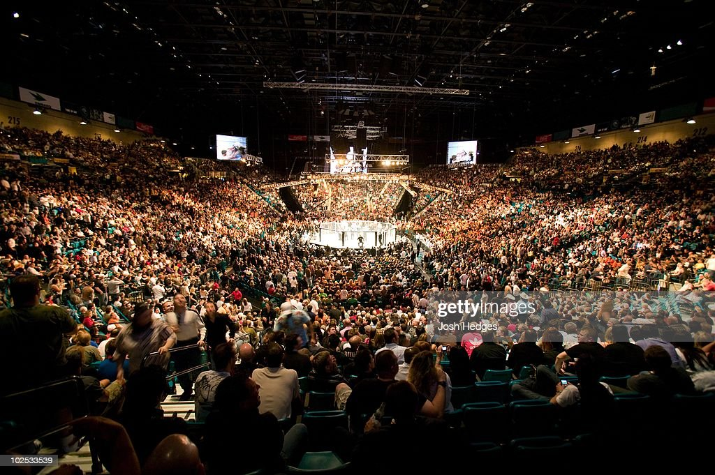 General view during the UFC 91 at MGM Grand Garden Arena on