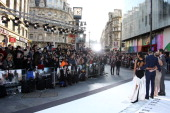 A general view during the UK Premiere of 'Star Trek Into Darkness' at The Empire Cinema on May 2 2013 in London England