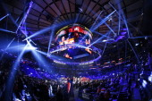 A general view during the under card of the Miguel Cotto vs Sergio Martinez WBC Middleweight Championship on June 7 2014 at Madison Square Garden in...