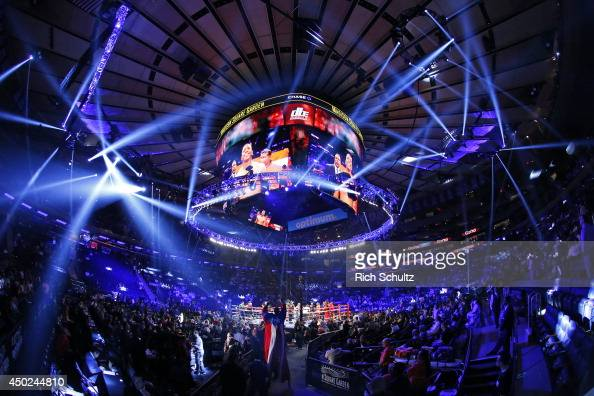 Madison Square Garden Boxing Stock Photos And Pictures