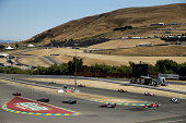 A general view during the Verizon IndyCar Series GoPro Grand Prix of Sonoma at Sonoma Raceway on August 24 2014 in Sonoma California