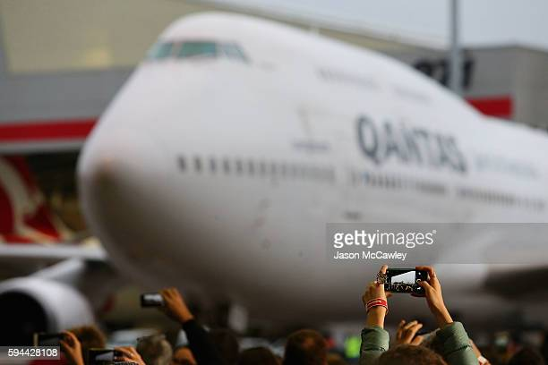 General view during the Welcome Home for Australian Olympic Games athletes at Sydney International Airport on August 24 2016 in Sydney Australia