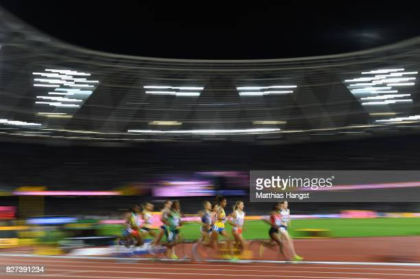A general view during the womens 15000m final duiring day four of the 16th IAAF World Athletics Championships London 2017 at The London Stadium on...