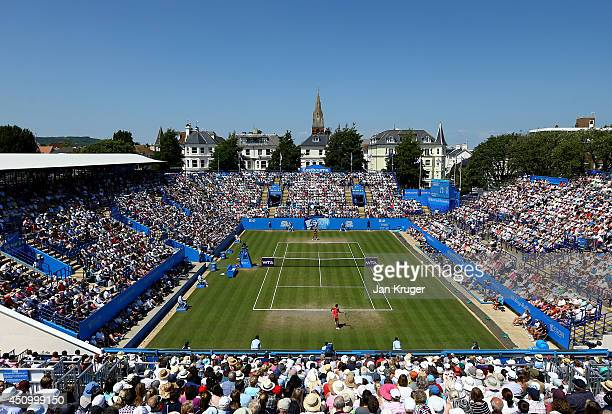 General view during the Women's Singles Final match between Madison Keys of USA and Angelique Kerber of Germany on day eight of the Aegon...