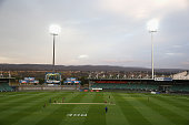 A general view during the WT20 match between Tasmania and Queensland Aurora Stadium on November 28 2014 in Launceston Australia