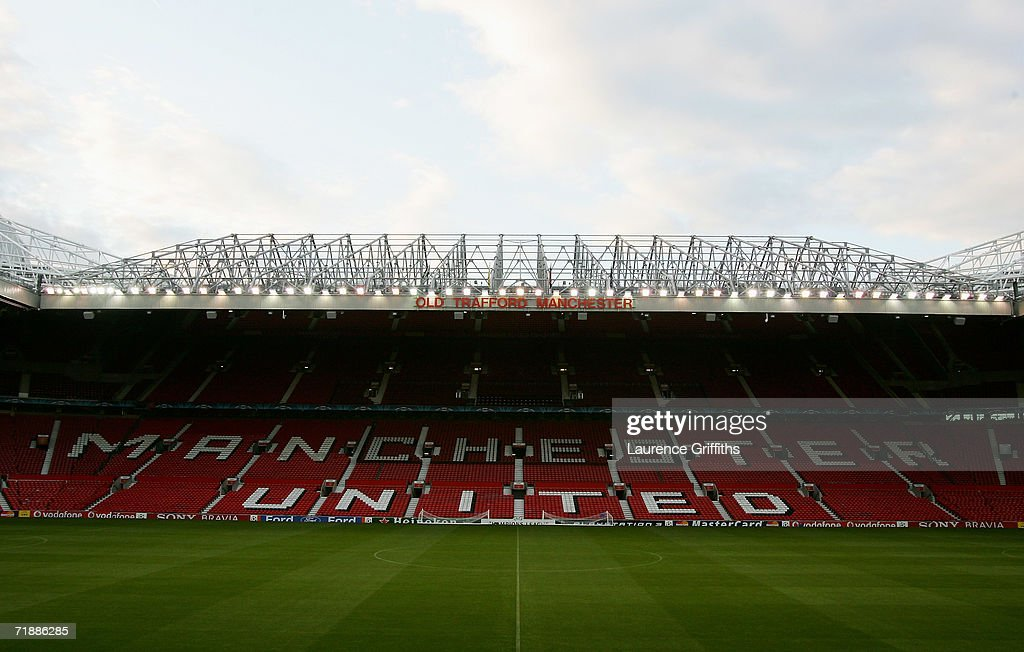 A general view during Training ahead of the Champions League match against Manchester United at Old Trafford on September 12 2006 in Manchester...