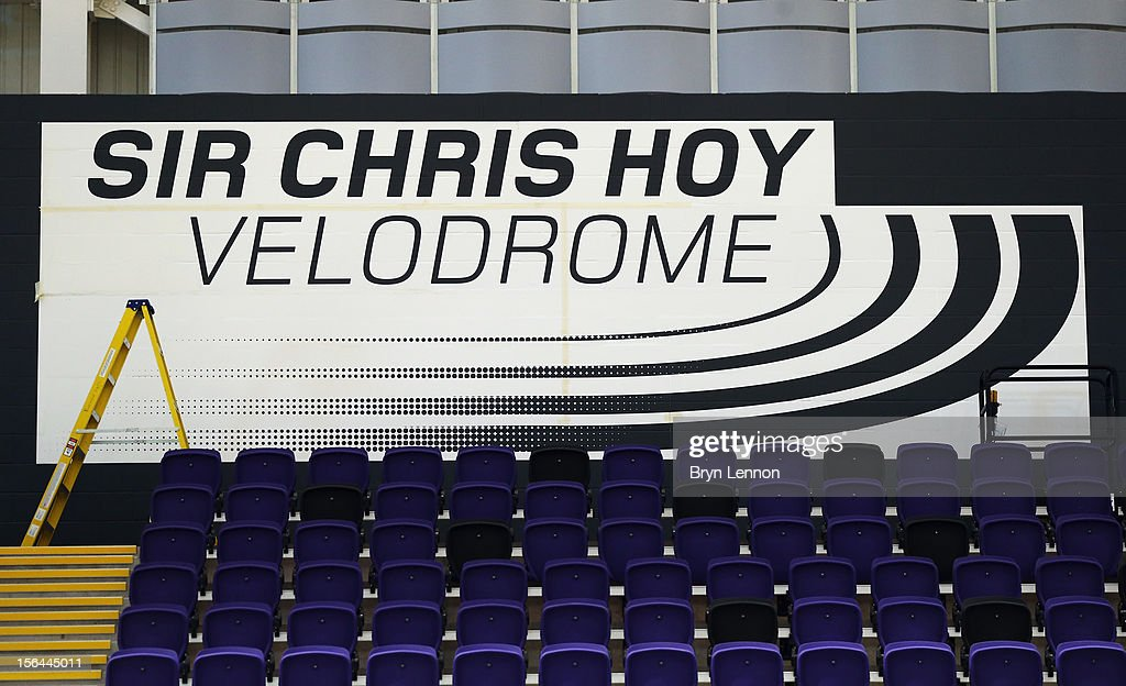 A general view during training for the UCI Track Cycling World Cup at Sir Chris Hoy Velodrome on November 15, 2012 in Glasgow, Scotland.