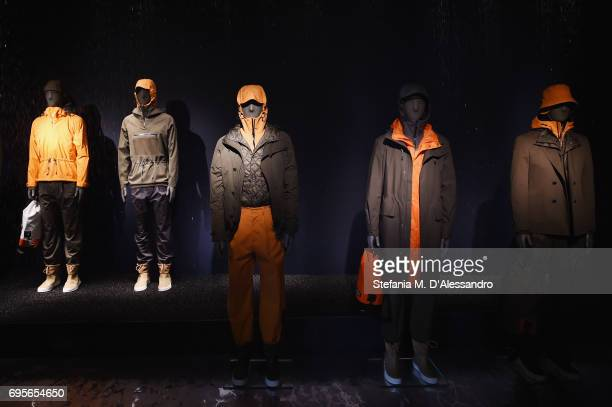 A general view during ZZegna SS18 Collection Presentation during 92 Pitti Immagine Uomo on June 13 2017 in Florence Italy