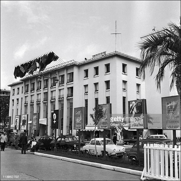 A general view Festival Palace during the Cannes Film Festival in 1961