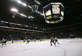 General view from ice level during the game between the Ottawa Senators and the Nashville Predators on December 14 2006 at the Gaylord Entertainment...