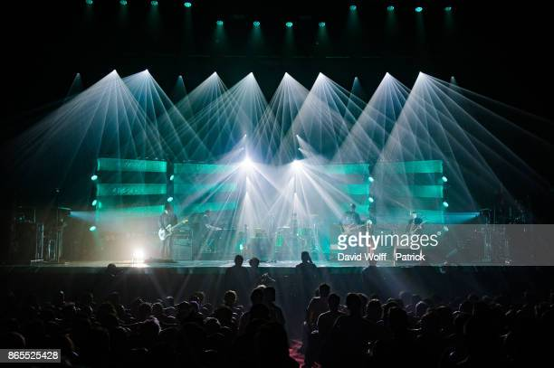 General view from Mogwai performing at Le Grand Rex on October 23 2017 in Paris France