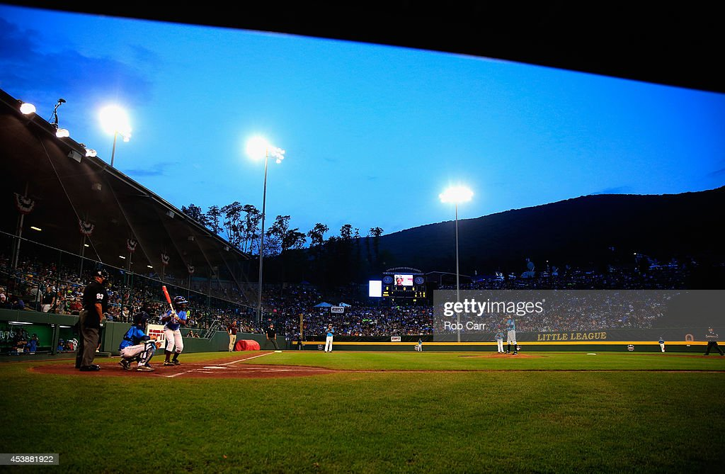 A general view from the first inning between Pennsylvania and Nevada during the United States division game at the Little League World Series tournament at Lamade Stadium on August 20, 2014 in South Williamsport, Pennsylvania.