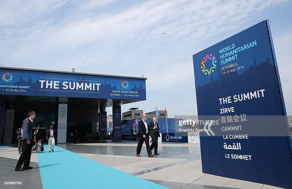 A general view from the site of World Humanitarian Summit in Istanbul, Turkey on May 24, 2016.