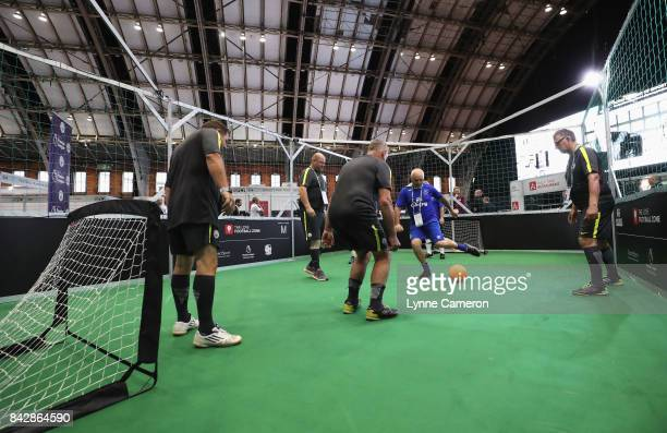A general view in the Love Football Zone during day 2 of the Soccerex Global Convention at Manchester Central Convention Complex on September 5 2017...