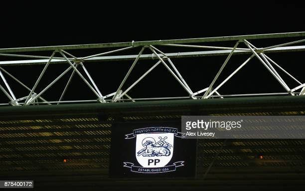 A general view inside Deepdale is seen prior to the Sky Bet Championship match between Preston North End and Bolton Wanderers at Deepdale on November...