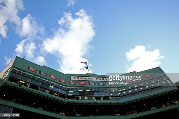 A general view inside Fenway Park before the game between the Boston Red Sox and the Baltimore Orioles on May 4 2017 in Boston Massachusetts