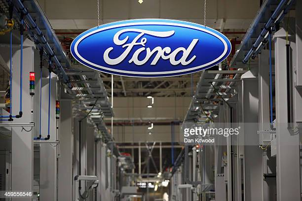 A general view inside Ford Motor Co Ltd's Dagenham Engine Plant on November 25 2014 in Dagenham England The multi million pound plant which included...