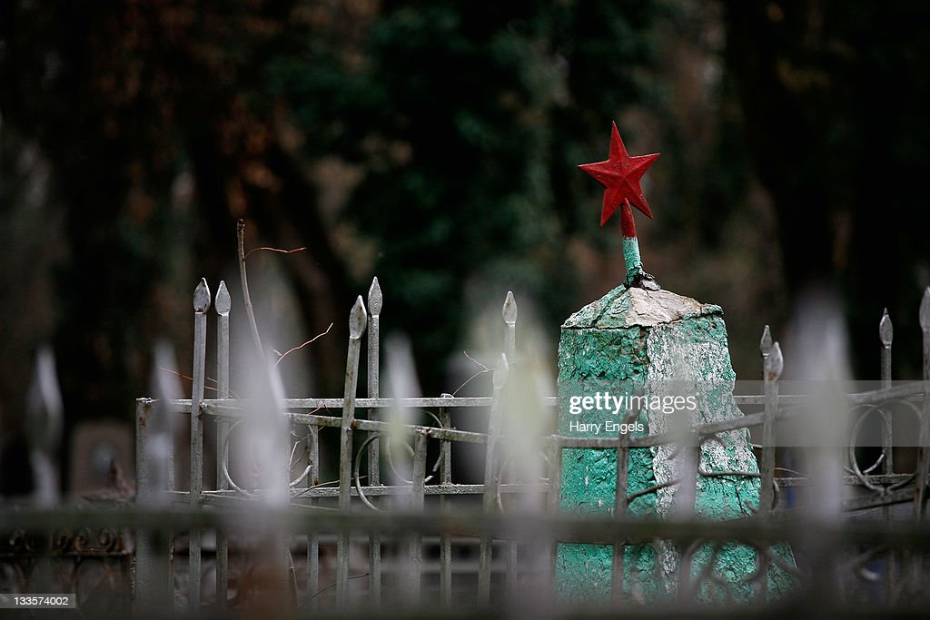 A general view inside the city's central cemetary on November 19, 2011 in Krasnodar, Russia. Krasnodar is one of thirteen cities proposed as a host city as Russia prepares to host the 2018 FIFA World Cup.