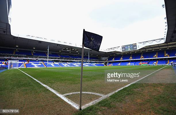A general view inside the ground prior to the Barclays Premier League match between Tottenham Hotspur and Norwich City at White Hart Lane on December...