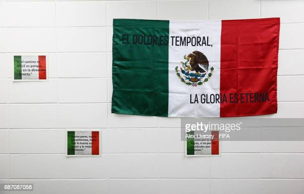 A general view inside the Mexico changing room is seen prior to the FIFA U20 World Cup Korea Republic 2017 group B match between Mexico and Germany...
