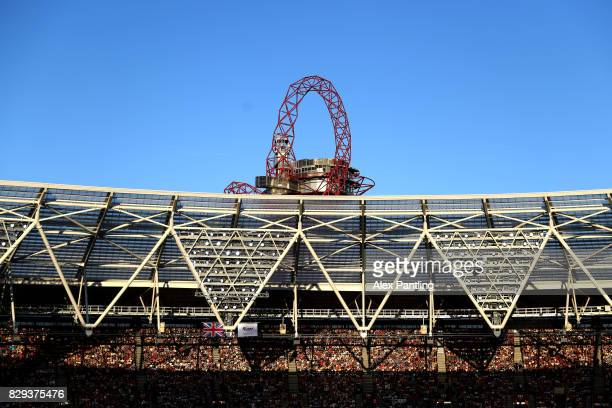 A general view inside the stadium during day seven of the 16th IAAF World Athletics Championships London 2017 at The London Stadium on August 10 2017...