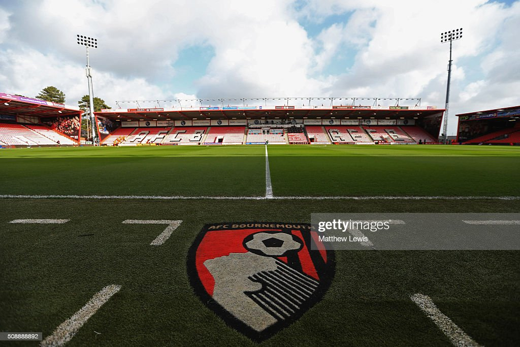 A general view inside the stadium prior to the Barclays Premier League match between A.F.C. Bournemouth and Arsenal at the Vitality Stadium on February 7, 2016 in Bournemouth, England.