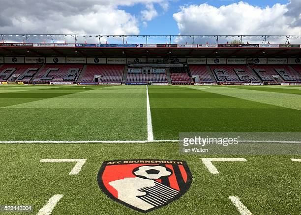 A general view inside the stadium prior to the Barclays Premier League match between AFC Bournemouth and Chelsea at the Vitality Stadium on April 23...