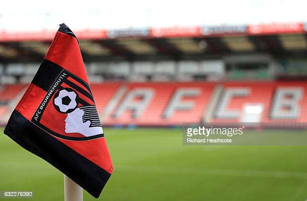 General view inside the stadium prior to the Premier League match between AFC Bournemouth and Watford at Vitality Stadium on January 21 2017 in...