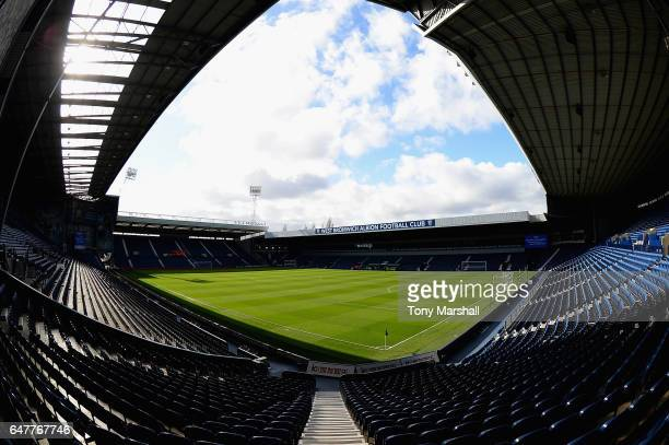 General view inside the stadium prior to the Premier League match between West Bromwich Albion and Crystal Palace at The Hawthorns on March 4 2017 in...