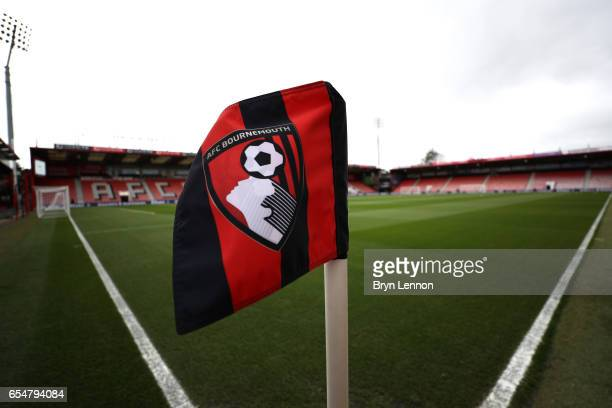 General view inside the stadium prior to the Premier League match between AFC Bournemouth and Swansea City at Vitality Stadium on March 18 2017 in...