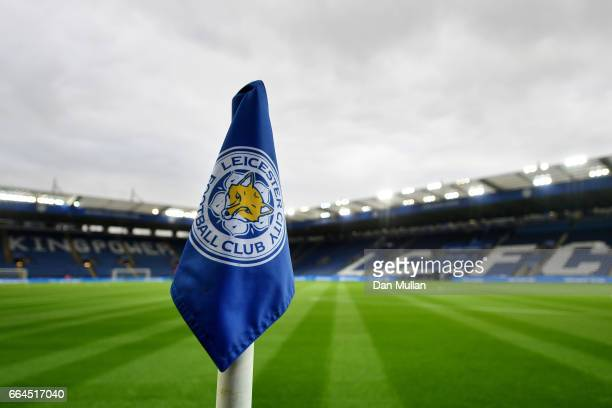 General view inside the stadium prior to the Premier League match between Leicester City and Sunderland at The King Power Stadium on April 4 2017 in...