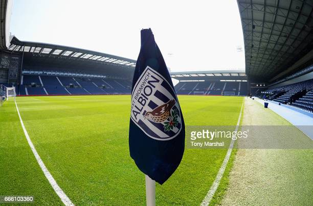 General view inside the stadium prior to the Premier League match between West Bromwich Albion and Southampton at The Hawthorns on April 8 2017 in...