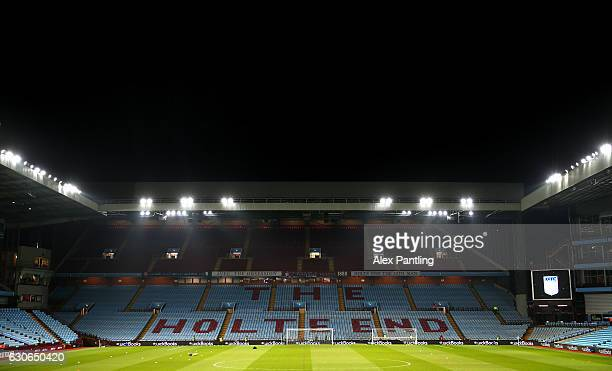 A general view inside the stadium prior to the Sky Bet Championship match between Aston Villa and Leeds United at Villa Park on December 29 2016 in...
